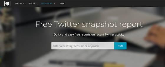 اداة تحليل الهاشتاق Tweet Reach